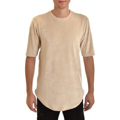 Twin Black T-Shirt Total Velvet-Ecru
