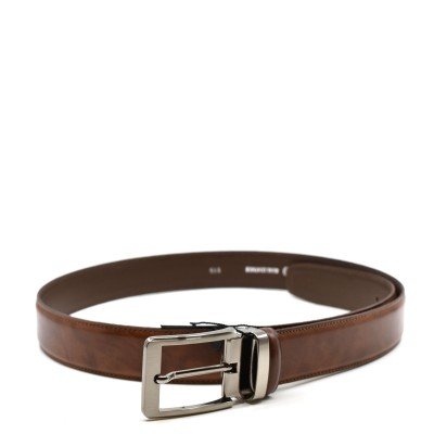 William G. Belt Siera Leather-Brown