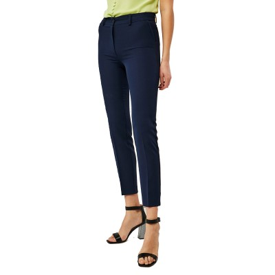 Forel Trousers Straight Fit-Dark Blue