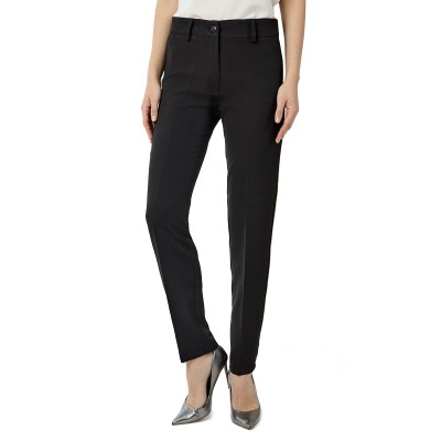 Forel Trousers Crepe-Black