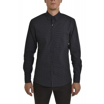 Vittorio Shirt Dots-Blue