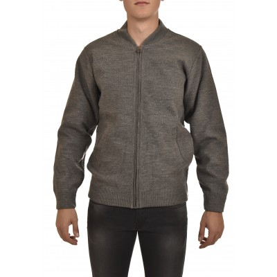 Sogo Knitted Jacket-Grey