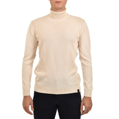 Brokers Sweater Turtleneck-Cream