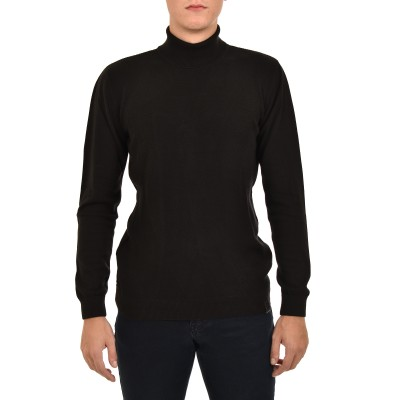 Brokers Sweater Turtleneck-Black