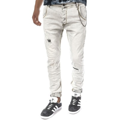 Brokers Jeans Removable Chain-Grey