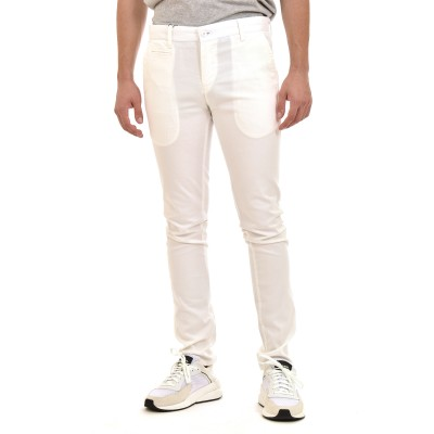 Brokers Pants-White