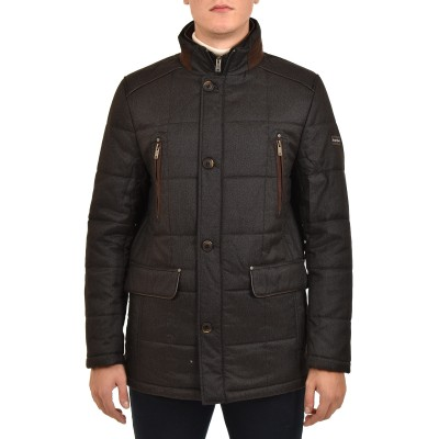 Sogo Jacket Brown Details-Anthracite