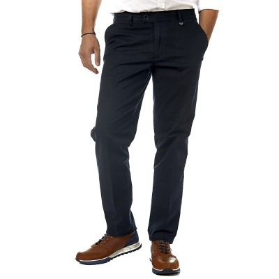 Sogo Trousers In Cotton-Marine