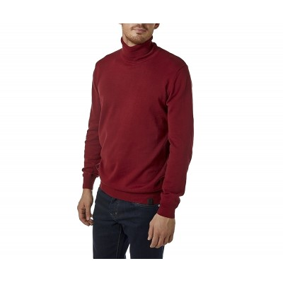 Brokers Knitted Blouse Turtleneck-Bordeaux