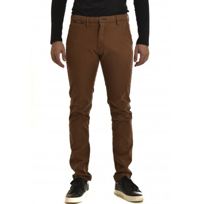 Brokers Trousers Chino-Brown