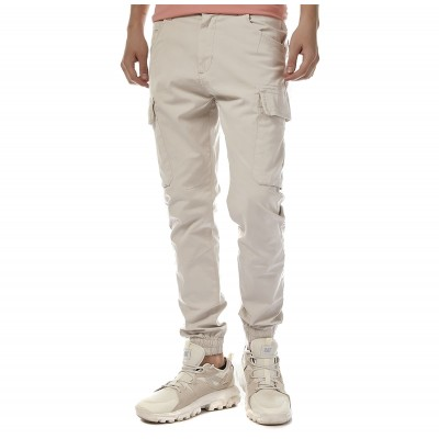Brokers Trousers Cargo-Ecru