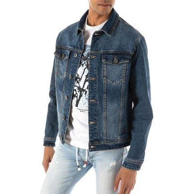 Brokers Jacket Denim-Blue