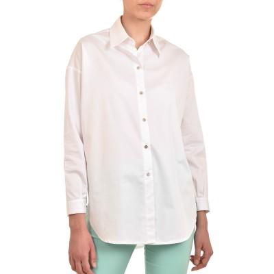 Twenty-29 Shirt Colorful Back Print-White