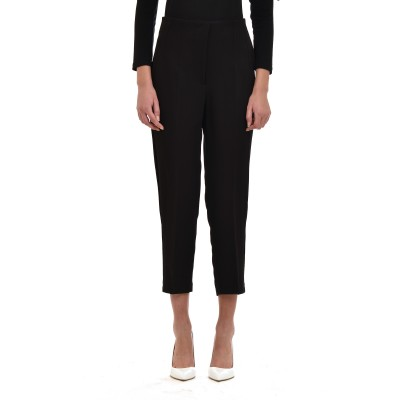 Twenty-29 Trousers With Seams-Black