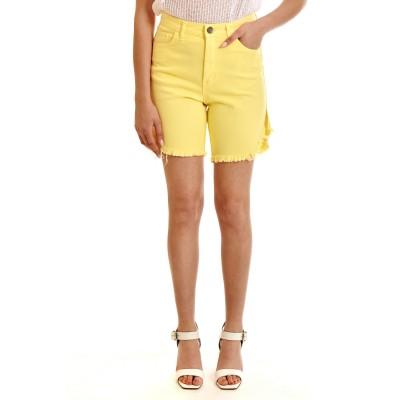 Sac & Co Shorts Denim Olivia-Yellow