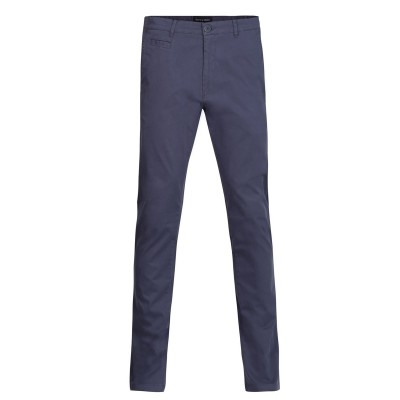 Navy & Green Trousers Modern Fit Without Pleates-Avio A