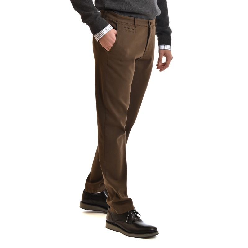 Navy & Green Without Pleats Modern Fit-Cigar B