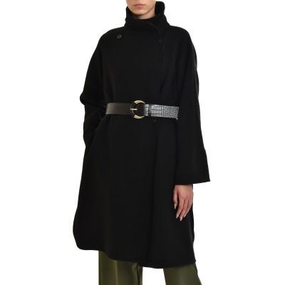 Marella Coat With Waistcoat Ferito-Black