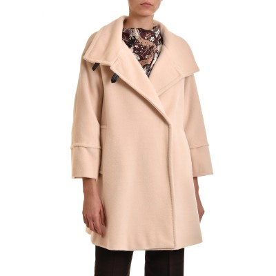 Marella Coat Lipsia Pure Virgin Wool-Ecru