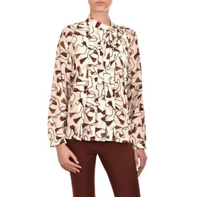 Marella Shirt Ariano Silk-White