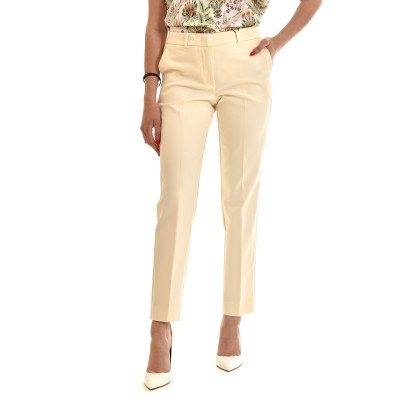 Marella Pants Soma Straight-Cream