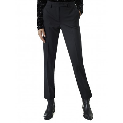 Marella Trousers Cigarette Isba-Black