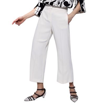 Marella Trousers Adorino Art.365-Wool White