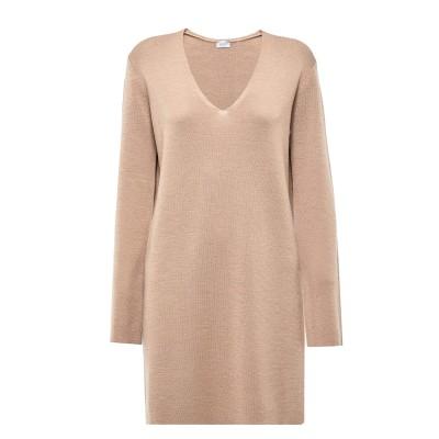 Marella Sweater Bazar Long V-Neck-Camel
