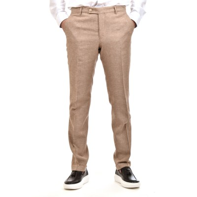 Bizzaro Trousers Linen-Beige