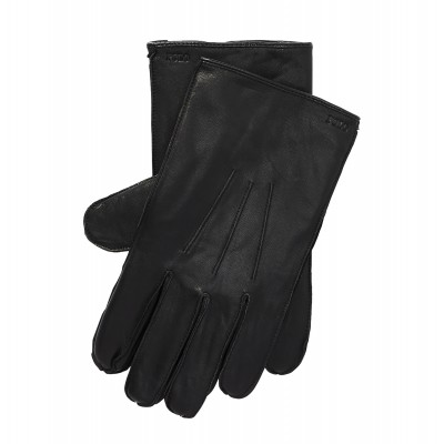 Polo Ralph Lauren Gloves Nappa Leather-RL Black