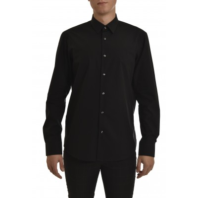 Boss Shirt Regular Fit Egyptian Cotton-Black