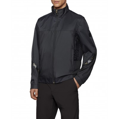 Boss Jacket Regular Fit Water Repellent In Recycled Fabric-Black