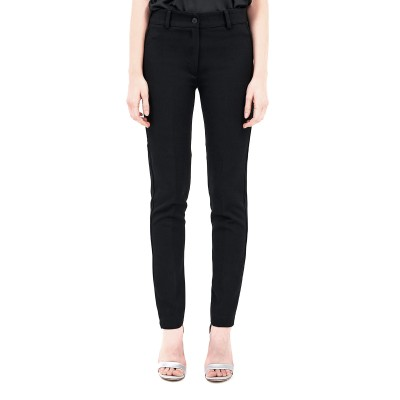 Forel Trousers Cigarette-Black