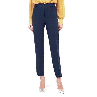 Forel Trousers Cigarette-Blue