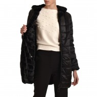 Forel Jacket Hooded Double Face-Black