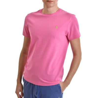 Polo Ralph Lauren T-Shirt M Classics Custom Slim Fit-Pink