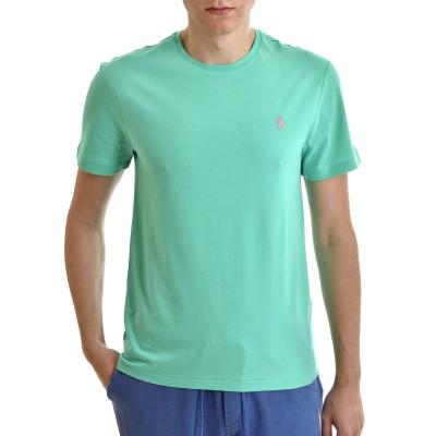 Polo Ralph Lauren T-Shirt M Classics Custom Slim Fit-Green