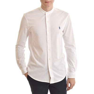 Polo Ralph Lauren Shirt Featherweight Mesh-White