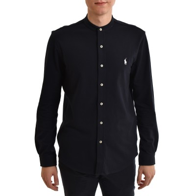 Polo Ralph Lauren Shirt Featherweight Mesh-Aviator Navy