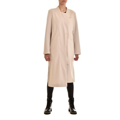 Lotus Eaters Coat Amuse Long-Ecru