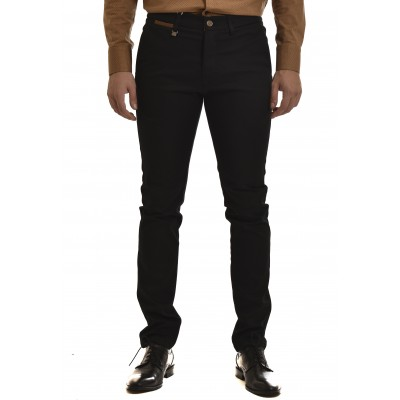 Vittorio Pants Chino Como-Black