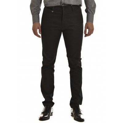 Vittorio Pants Chino Como-Dark Grey