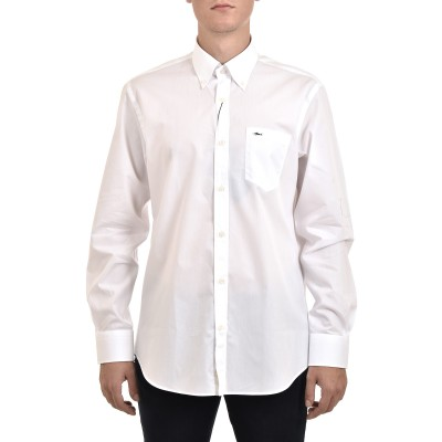 Paul & Shark Shirt Cotton Poplin-White
