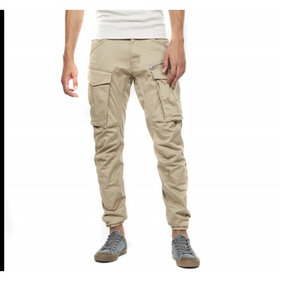 G-Star Raw Trousers Rovic Zip 3D Straight Tapered-Dune