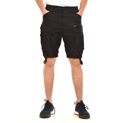 G-Star Raw Short Rovic Zip Relaxed-Black