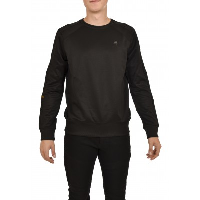 G-Star Raw Sweater Motac Slim-Dark Black