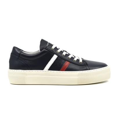 Tommy Hilfiger Sneaker Fashion TH Leather Cupsole-Desert Sky
