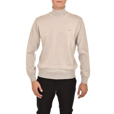 Guy Laroche Knitted Blouse Turtleneck-Grey
