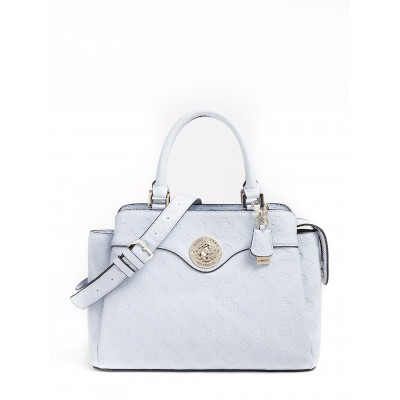 Guess Handbag Dayane 4G Peony Logo-Light Blue/Sky