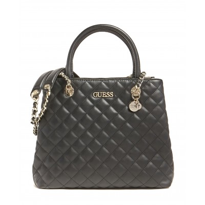 Guess Handbag Illy Quilted-Black